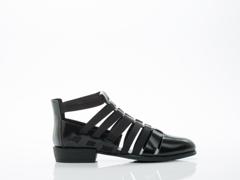 All Black In Black Fab Glad Sandal