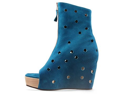 All Caps In Turquoise Suede Rosalie