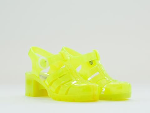 American Apparel In Firefly Woven Jelly Heel