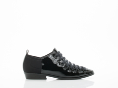 Atelje In Black Patent Sion