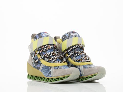 Bernhard Willhelm X Camper In Blue Snake Himalaya