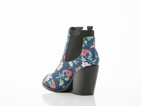 Black Milk Clothing X Solestruck In Gorgeous Garden Navy Alex