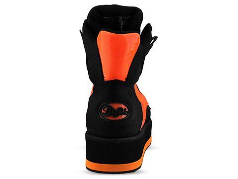 Buffalo In Texas Negro Charol Naranja Neon 1302-4