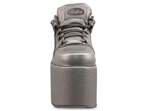 Buffalo X Solestruck In Silver Glitter 1339-10 Mens