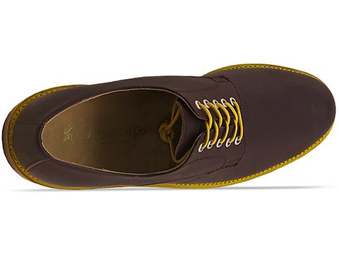 Caminando In Burgundy 2 Tone Plain Toe