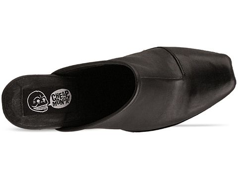 Cheap Monday In Black Angle Clog