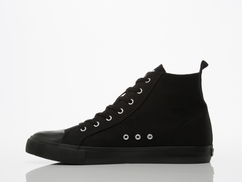 Cheap Monday In Black Black Base High Top Mens