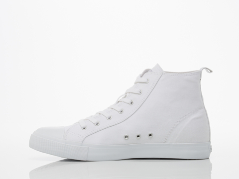 Cheap Monday In White White Base High Top Mens