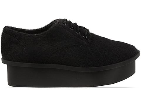 Cheap Monday In Black Pony Form Oxford