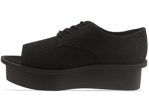 Cheap Monday In Black Form Peep Toe