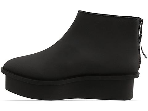 Cheap Monday In Black Form Zip Nubuck