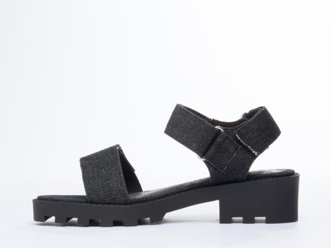 Cheap Monday In Black Go Velcro