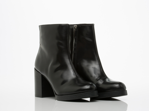 Cheap Monday In Black Layer Ankle Boot