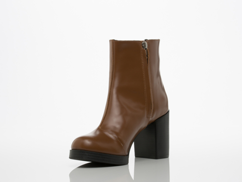 Cheap Monday In Brown Layer Ankle Boot