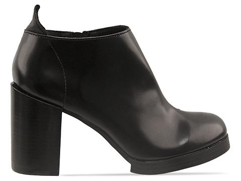 Cheap Monday In Black Smooth Layer Heel