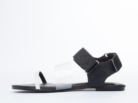 Cheap Monday In Black Savior Velcro