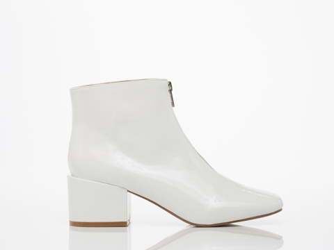Cheap Monday In White Square Boot
