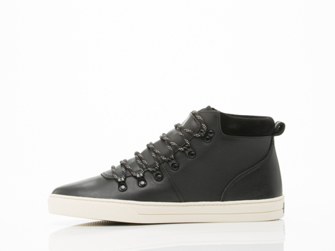 Clae In Black Leather Grant