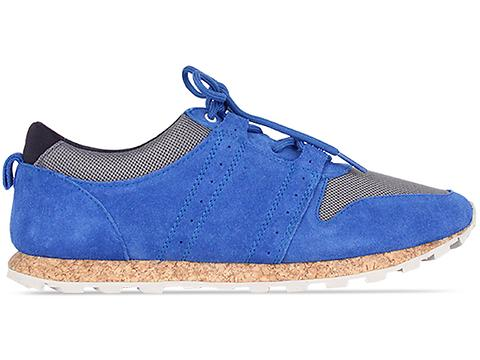 Clae In Royal Suede Charcoal Mesh Mills