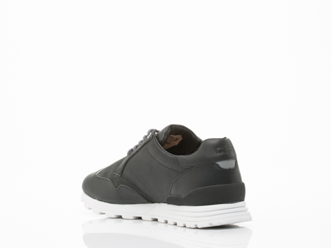 Clae In Black Leather Nathan