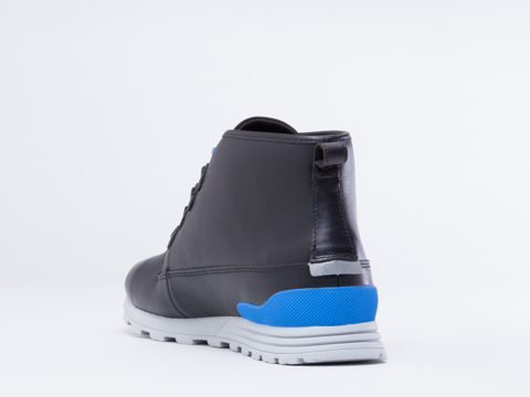 Clae In Black Leather Starks