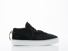 Clear Weather In Black Stingray Suede Everest Mens