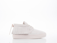 Clear Weather In Pale Pink Suede One O One Mens