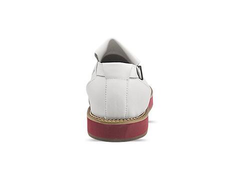 DbyD In White Tassel Sandal