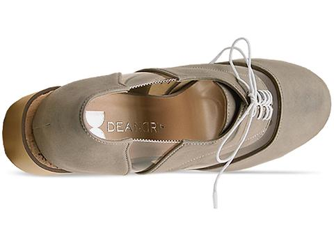 Deandri In Grey Clear Archie Oxfords
