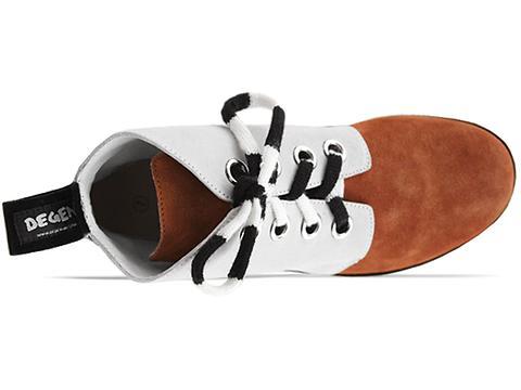 Degen In Orange Brown Off White Gaston