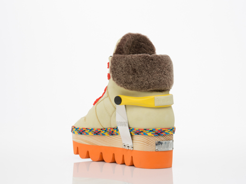 Degen In Multi Yellow Magik Strap Boot