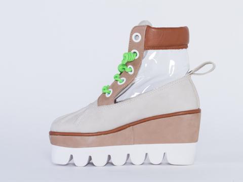 Degen In White Mild Case Boot