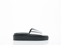 Depression In Black Platform Sandal Mens
