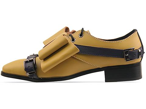 Depression In Yellow Transformer Shoes Bow Womens