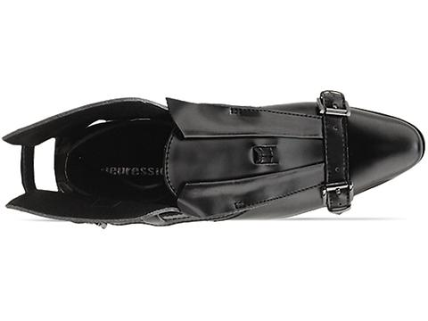 Depression In Black Transformer Shoes Fin Mens