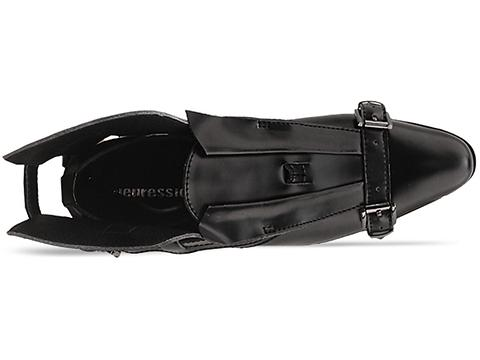 Depression In Black Transformer Shoes Fin Womens
