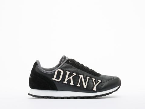 DKNY In Black Jete Logo Varsity