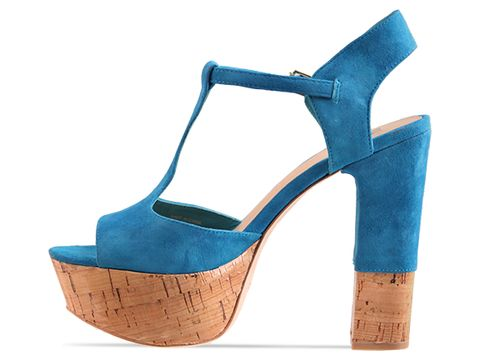 Dolce Vita In Teal Suede Baxter