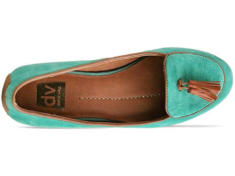 Dolce Vita In Mint Suede Damala