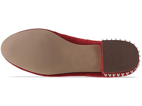 Dolce Vita In Red Suede Faustine