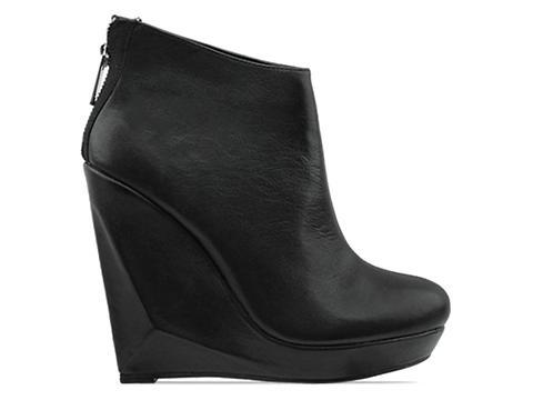 Dolce Vita In Black Leather Fury