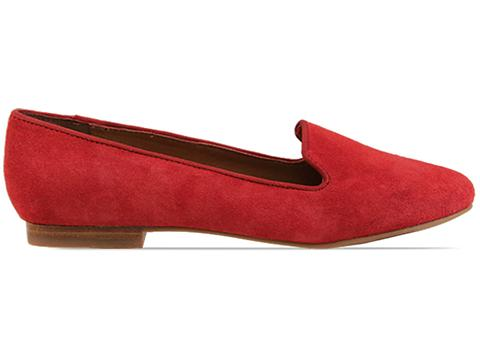 Dolce Vita In Red Suede Gilly