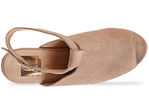 Dolce Vita In Nude Suede Girtie
