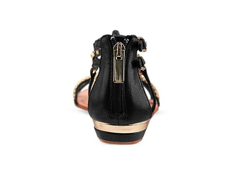Dolce Vita In Black Leather Idra