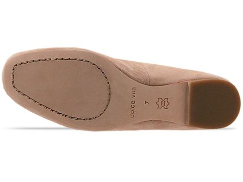 Dolce Vita In Nude Suede Nels