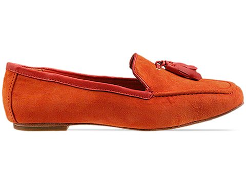 Dolce VitaOrange Red Suede