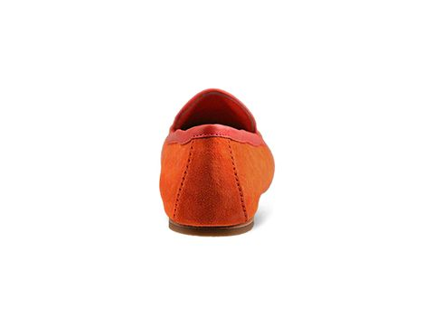 Dolce Vita In Orange Red Suede Nels