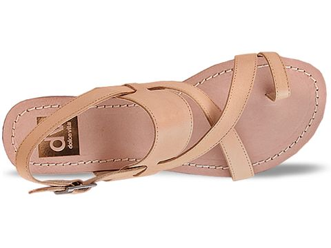 Dolce Vita In Nude Leather Pansey