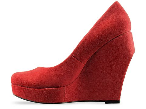Dolce Vita In Red Suede Persius