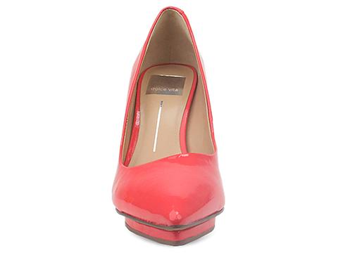 Dolce Vita In Cherry Patent Leather Serell